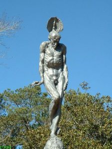 Brookgreen Gardens Time and Fate of Man