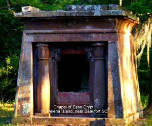 Chapel of Ease Mausoleum on St. Helena Island