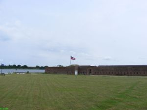 Old Fort Jackson entrance
