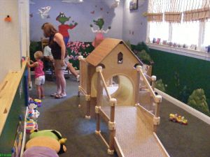 Charlie's Playouse - dedicated room for babies and toddlers
