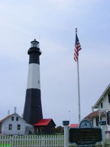 GA\'s oldest lighthouse recently renovated to its 1700s look and feel
