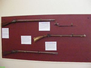 Revolutionary War rifles replicas