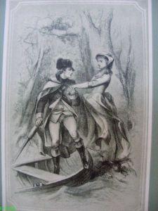 Horse-shoe Robinson illustration by E.O.C. Darley