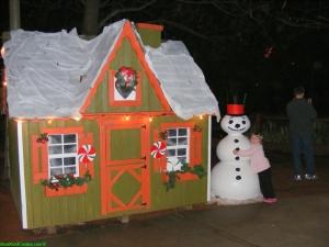 christmas village - Riverbanks Zoo Christmas Lights