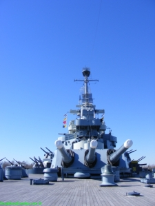 Battleship Stern Turret 3 with 16-inch Guns