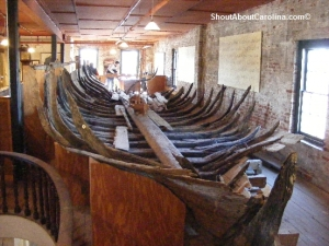 What is the oldest wooden boat in America