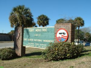 Fort Moultrie Park Entrance