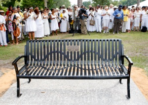 Bench by the Road 2008 Ceremony - Photo by Tony Morrison Society