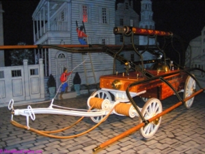 1857 hand pumper that started American LaFrance