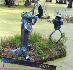 The Swamp Troubadours at Magnolia Plantation