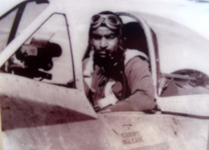 Hero Tuskegee pilot (photo by Hiram Mann)
