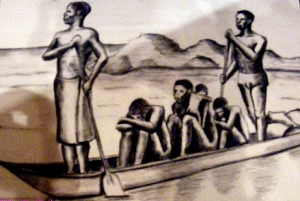 18th century African Slave Drawing