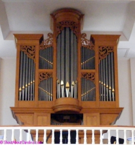 St. Helena Church organ