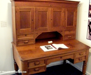 Few of the original furniture pieces remaining