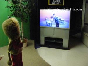 Karaoke stage Wilmington Children Museum