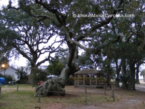 Cape Fear Indians sites