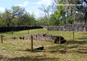Dorchester earthen and osyster shells colonial defense