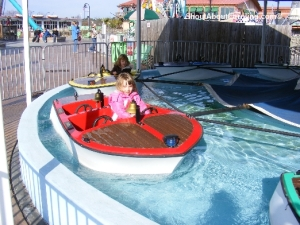 Fun rides for little children Broadway at the Beach