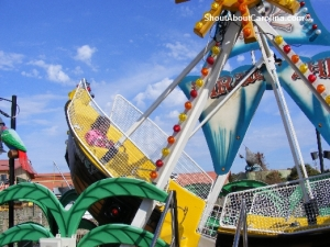 Rides for little kids at Broadway at the Beach