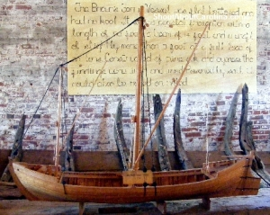 J. Richard Steffy 1700s American wooden ship model