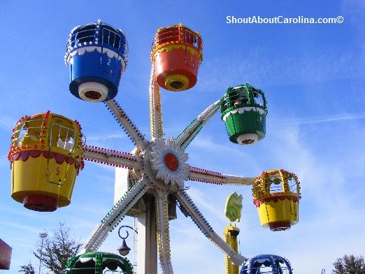 Get A Bird Eye View From The Ferris Wheel
