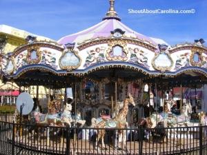 Myrtle Beach Nostalgia Carousel ride