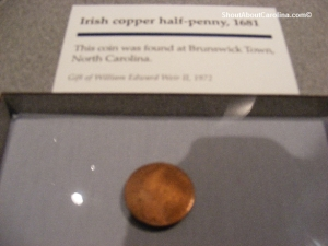 Colonial time coins used for commerce in North America