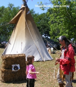 Native American traditions at Sparkleberry Fair