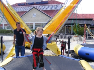 Safe aerial jumps for little children North Myrtle Beach