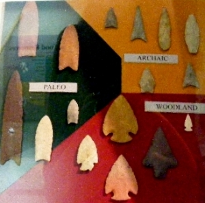 Native American arrow heads