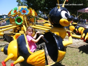 Fun rides for little children in Columbia