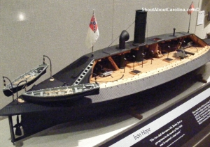 Confederate ironclad built in Wilmington