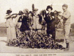Early 20th duck hunting expedition in the Lowcountry