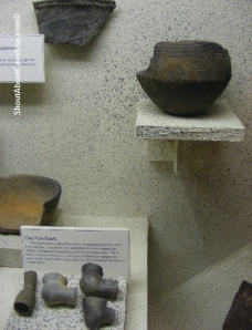 Native American artifacts at the Horry County Museum