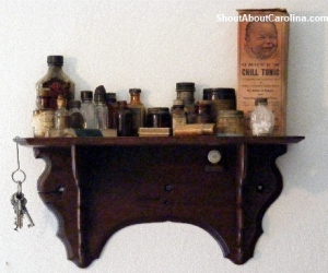 Chill tonic perfume found at Old Kentucky Home boardinghouse