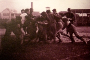 Football carnage early 20th century