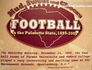 Football begins and the rest is history...