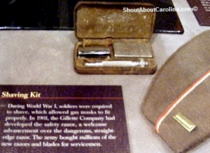 Army soldiers personal items