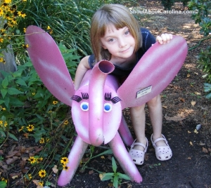 Fun stuff for kids at Riverbanks Botanical Garden