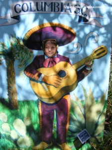 Look mom I am in the Mariachi Band!