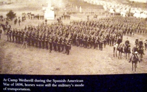 Military training camps in the 19th century