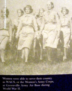 Training camps for service women during World War II