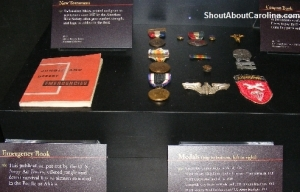 WWII personal items carried by soldiers