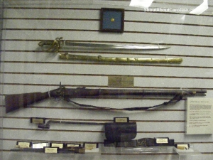 Popular Enfield rifle used by both armies during Civil War