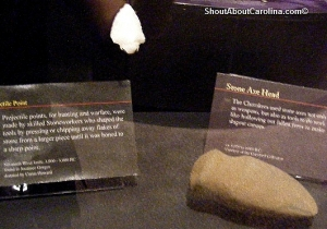 Native American artifacts from the Upcountry