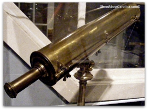 18th century telescopes, Ariail Collection Historical Astronomy at SC State Museum
