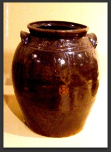Pottery produced by famous African American slaves