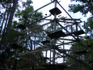 The brand new kids adventure course at Riverbanks Zoo