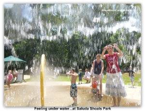Fun water playground for young and young at heart