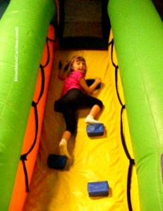 Fun on the obstacle course